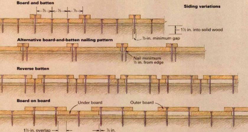 Install Board Batten Siding Fine Homebuilding