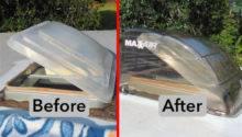 Install Camco Aero Flo Maxxair Vent Covers