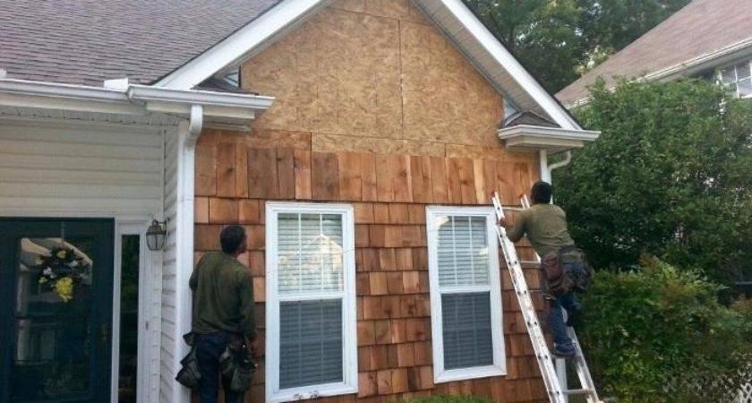 Install Cedar Shingles Shingle Panels