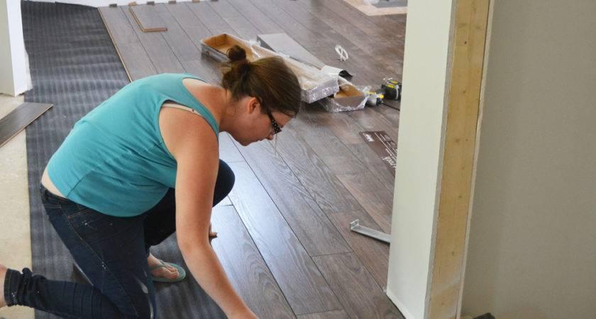 Install Floating Laminate Flooring Diy