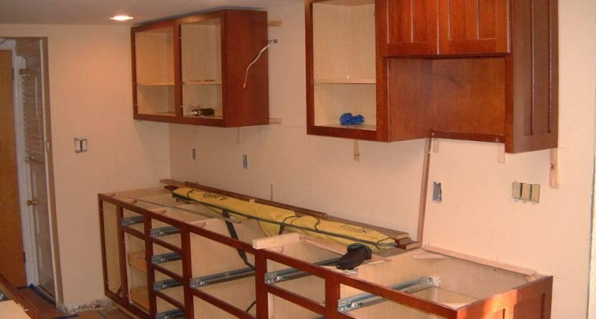 Install Kitchen Cabinets Home Design Ideas