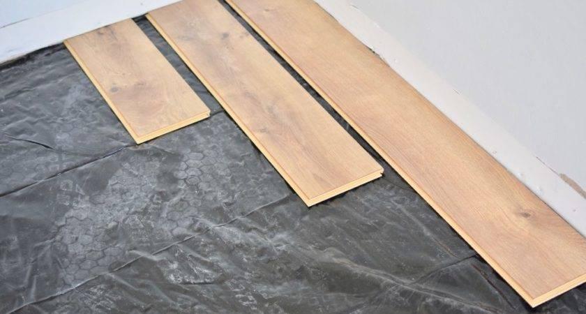 Install Laminate Flooring Glue Floor