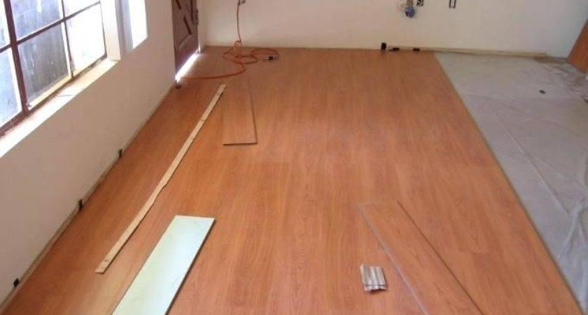 Install Laminate Flooring Over Concrete Slab