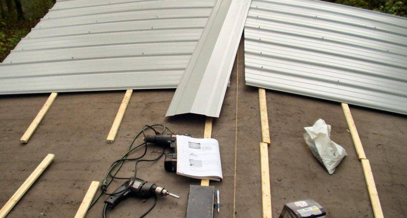Install Metal Roofing Panels Home Design Ideas