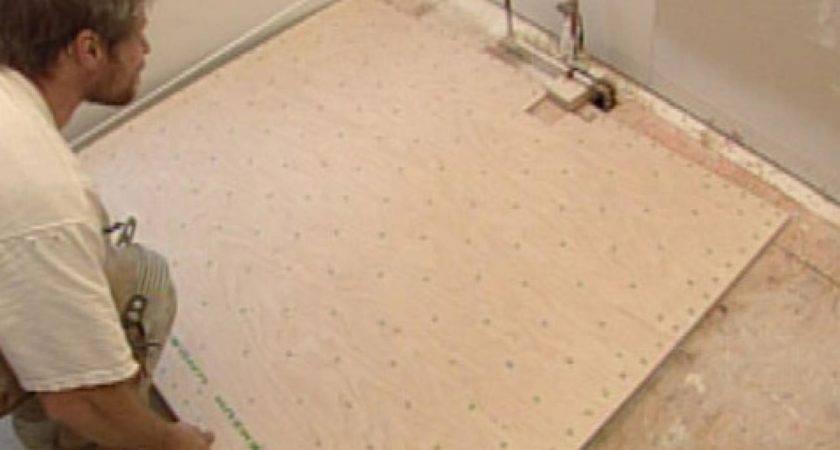 Install Natural Linoleum Flooring Tos Diy