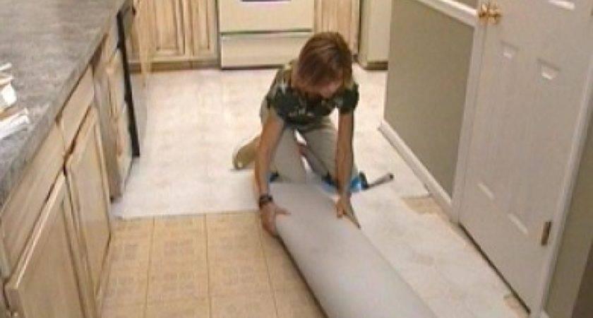 Install Self Stick Floor Tiles Tos Diy