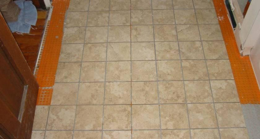 Install Sheet Vinyl Flooring Over Ceramic Tile Ehow