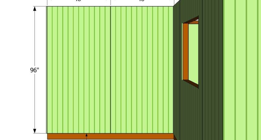 Install Siding Shed Howtospecialist