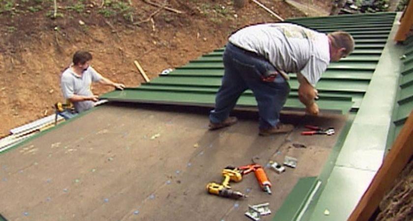 Install Tin Roof Tos Diy