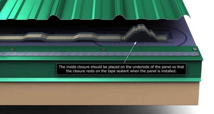 Install Union Masterrib Metal Roofing Panels
