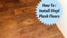 Install Vinyl Plank Flooring Joyfully Home