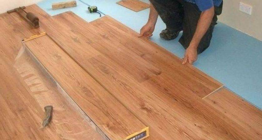 Install Wood Flooring Concrete Installing