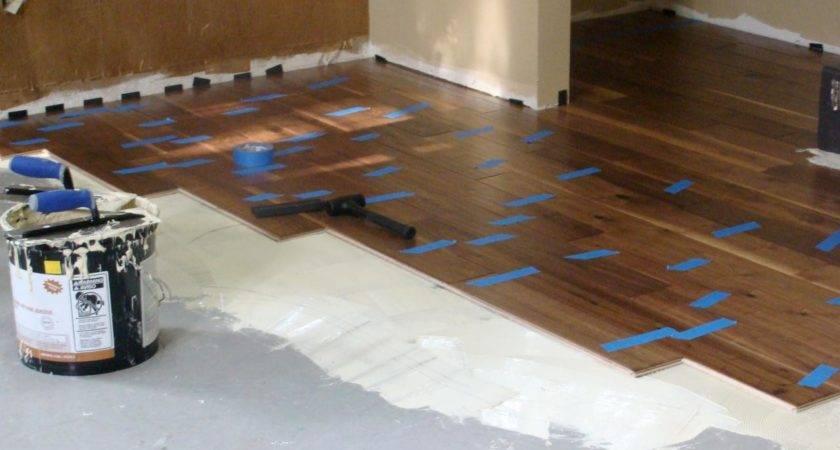 Installing Hardwood Flooring Over Concrete Tos Diy