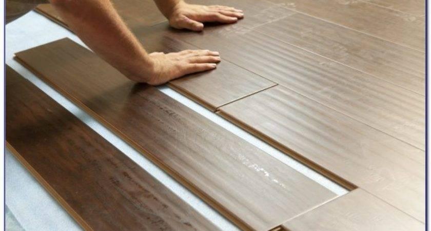 Installing Laminate Wood Flooring Over Plywood