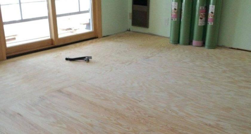 Installing Plywood Subfloor Elegant Tiling Over Backer