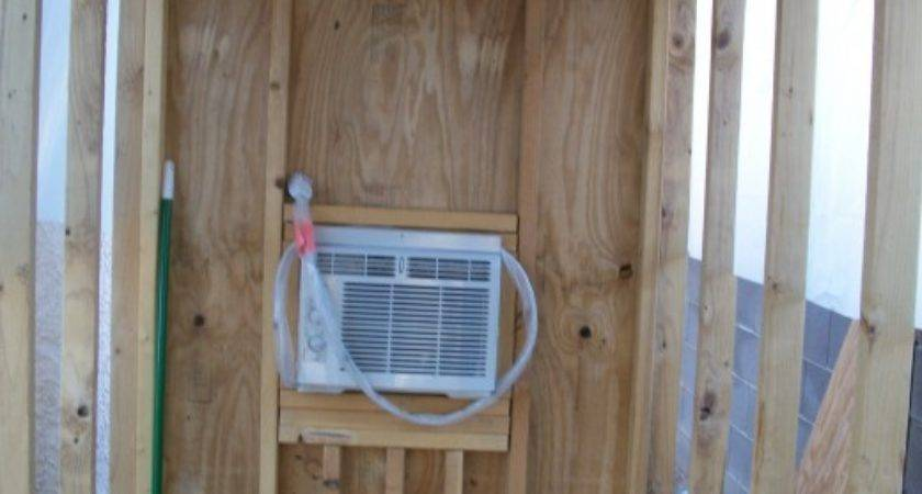 Installing Siding Walls Air Conditioned