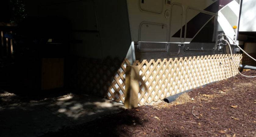 Insulated Skirting Mobile Home Travel Trailer Eps