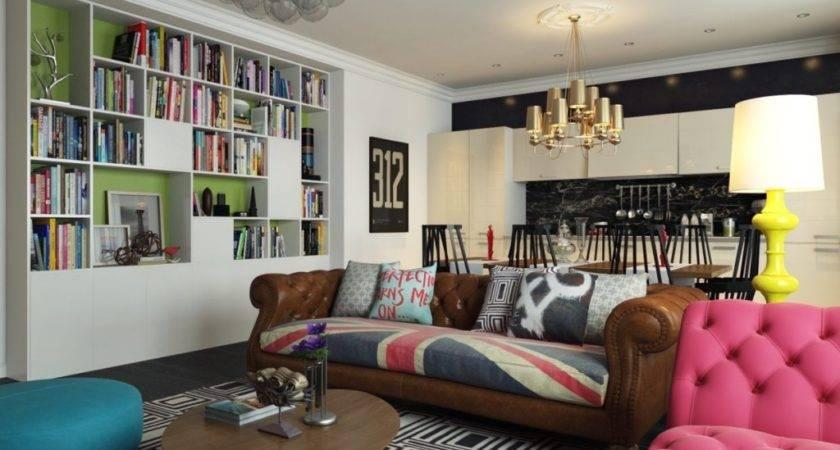 Interior Design Styles Retro Style Cas