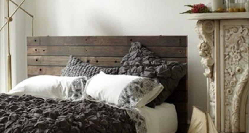 Interior Rustic Pallet Bed Ideas Warm