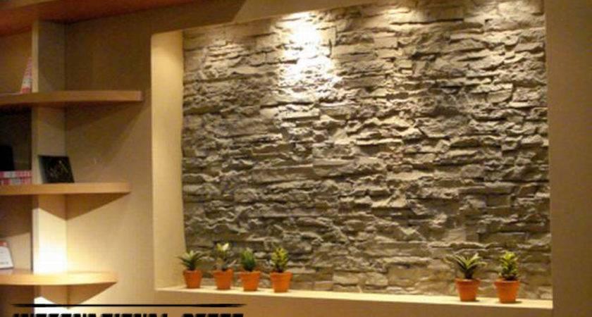 Interior Stone Wall Tiles Designs Ideas Modern