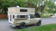 International Scout Four Wheel Camper