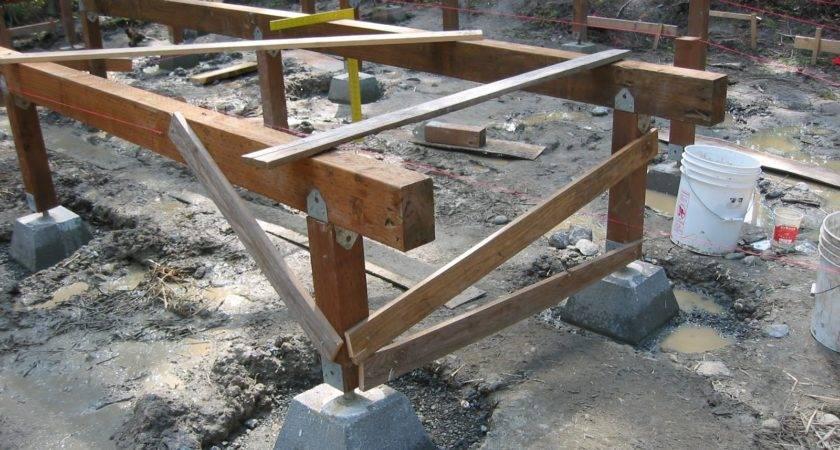 Jay Builds House Build Yurt Platform Part