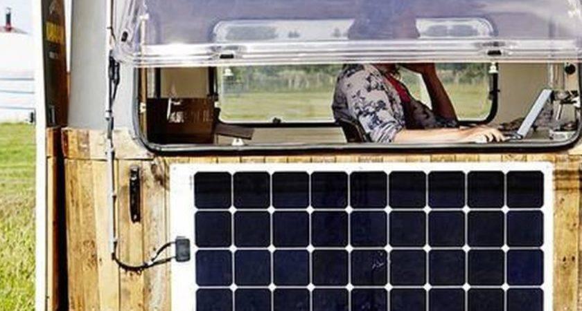 Kantoorkaravan Your Mini Self Sufficient Mobile Office