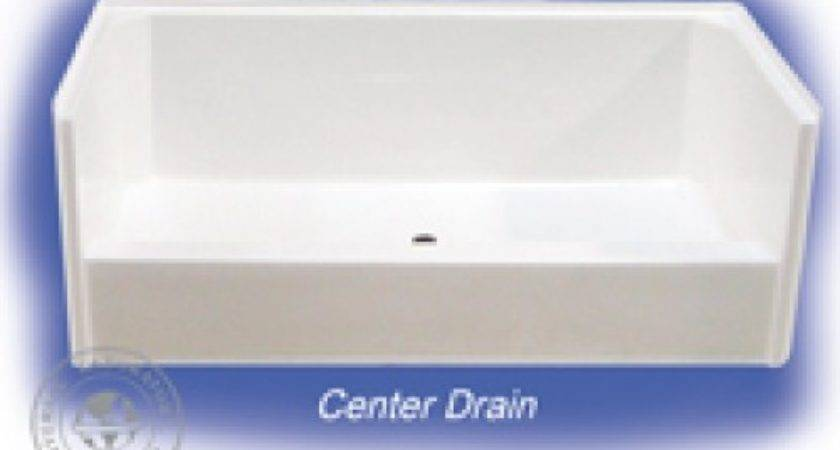 Kbk Mobile Home Center Shower Pan Bone