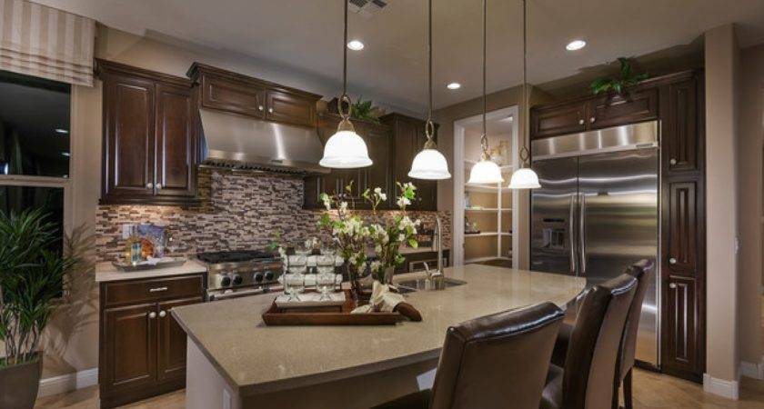 Kidney Shaped Kitchen Sink Pulte Model Homes Virtual Tour