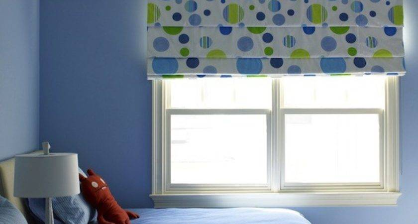 Kids Room Roman Shades Blackout Adorable