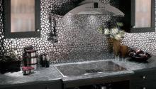 Kitchen Backsplash Combine Art Functionality