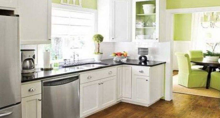Kitchen Best Colors Small Kitchens Cabinet