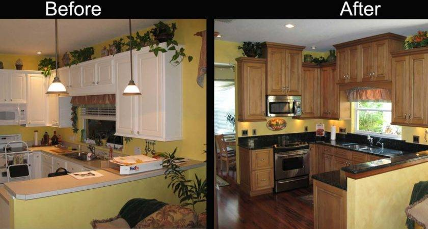 Kitchen Decor Remodel Before After