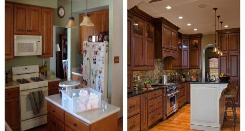 Kitchen Kitchens Before After Remodel
