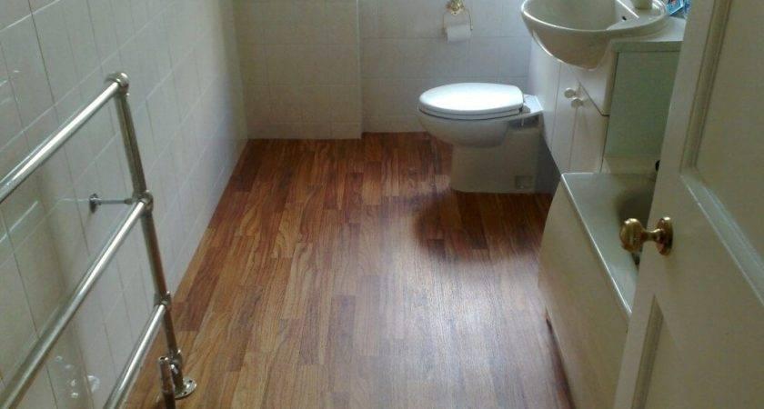 Laminate Wood Flooring Bathroom