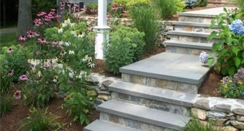Landscape Design Contractors Walkways Front Door