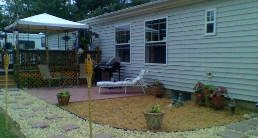 Landscaping Area Ideas Mobile Homes