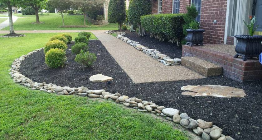 Landscaping Rocks Easy Home Decorating Ideas