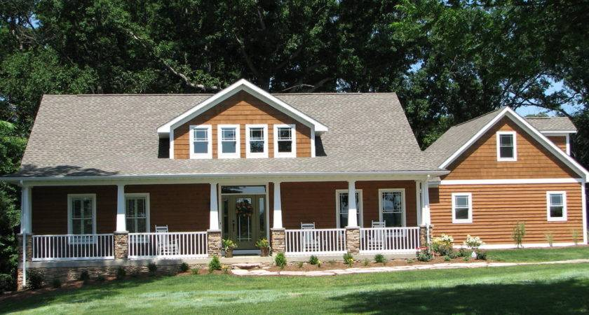 Large Front Porch House Plans Homes Floor