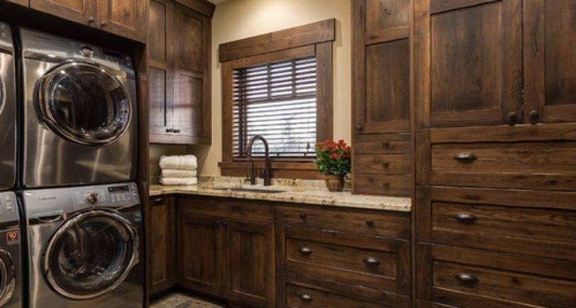 Large Laundry Room Ideas Rustic Decor