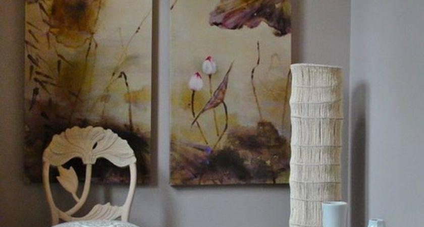 Large White Floor Vases Combine Existing Decor
