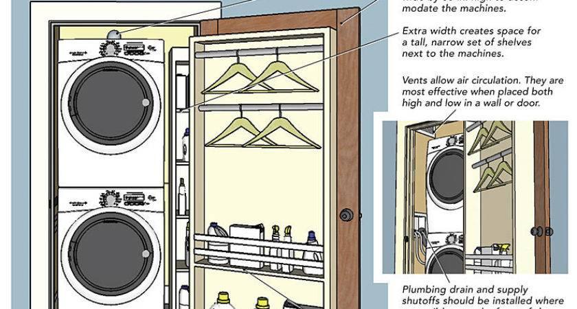 Laundry Closets Fine Homebuilding