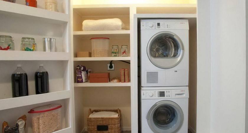 Laundry Room Closet Home Design Ideas