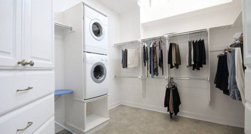 Laundry Room Master Bedroom Closet Homes Decoration Tips