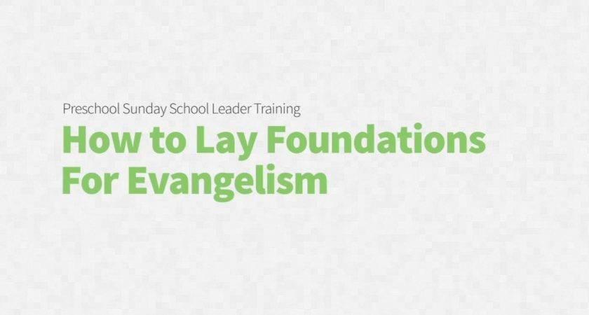 Lay Foundations Evangelism Vimeo