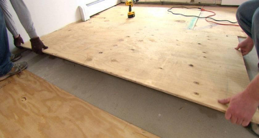 Lay Subfloor Needed Orlando Wood Floor