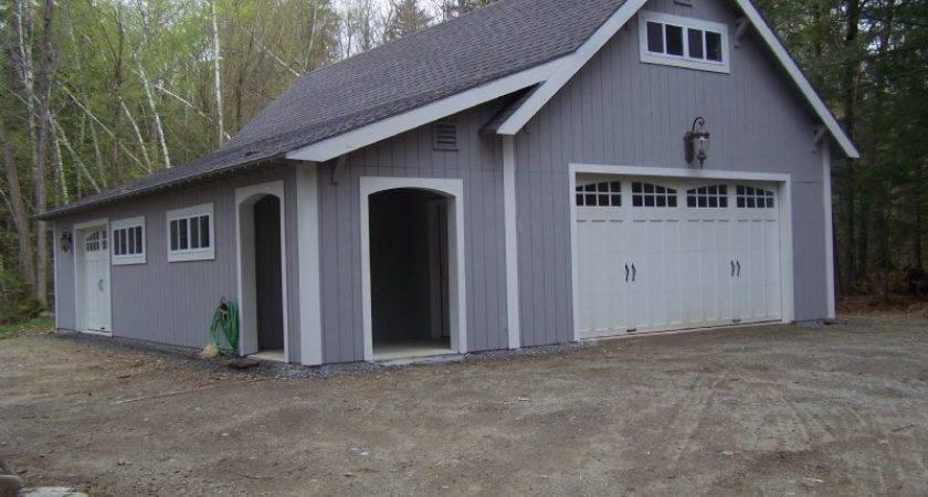 Lean Addition Garage Designs