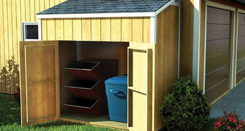 Lean Garden Sheds Pinterest Storage