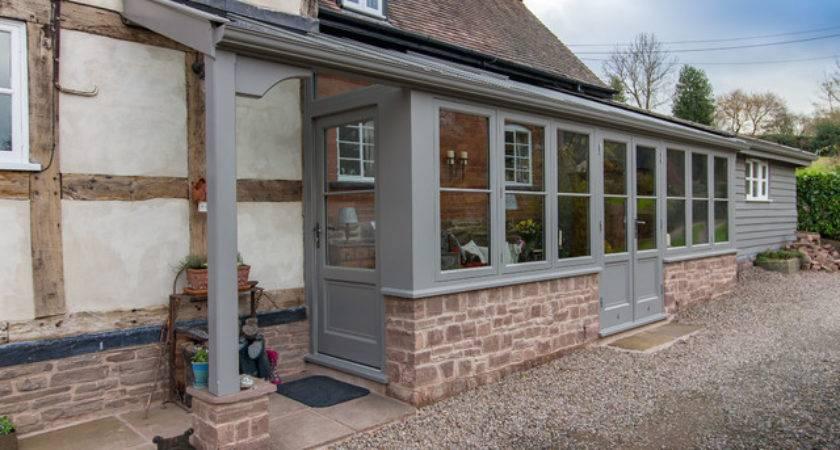 Lean Link Porch Entrance