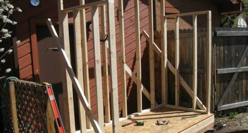Lean Shed Plans Easy Build Diy Designs